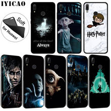 IYICAO Harry Potter Deathly Hallows Soft Silicone Case for Huawei P30 P20 Pro P10 P9 P8 Lite Mini 2017 2016 2015 P Smart 2019(China)
