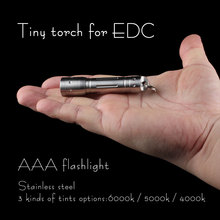 AAA flashlight, EDC flashlight ,CREE XPE2 led inside(China)