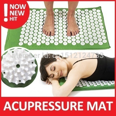 Free shipping Massager Cushion For Shakti Pilates Spike Yoga Bed Nails Mat For Acupressure Massage &amp; Relaxation<br><br>Aliexpress