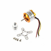 A2212 KV1400 Kv1000 KV2200 RC Brushless motor rc spare parts Firepower for airplane helicopter(China)