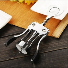 Modern Design Multifunction Bottle Opener Creative Bar Accessories Stainless Steel Wine Opener Free Shipping(China)