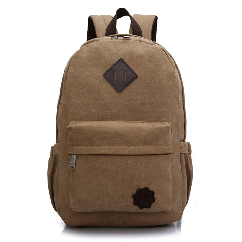 2016 Vintage Men Canvas Backpack Fashion School Bag Casual Travel Rucksack Shoulder Bags Laptop bolsas mochila Escolar XA1054C<br><br>Aliexpress