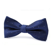 Prevalent Children Bow Tie Baby Boy Kid Clothing Accessories Solid Color Gentleman Shirt Neck Tie Bowknot Dot Free Shipping(China)