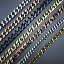 DIY jewelry accessories production Gold silver bronze necklace making Waist sexy flash style Retro-style chain 100cm