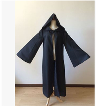 Anime Star Wars Costume Unisex Adult Hooded Robe Jedi Knight Cosplay Darth Vader Cloak Cape for Men S-2XL(China)