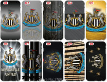 Wholesale Newcastle United Plastic Hard Cell Phone Cover For iphone 4 4S 5 5S SE 5C 6 6S Plus For iPod Touch 4 5 6 Mobile Case