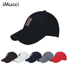 iMucc New Piece Baseball Cap Men Outdoor Sports Golf leisure Hats Men's Accessories Casual Fashion Outdoors Caps For Men 8 Color