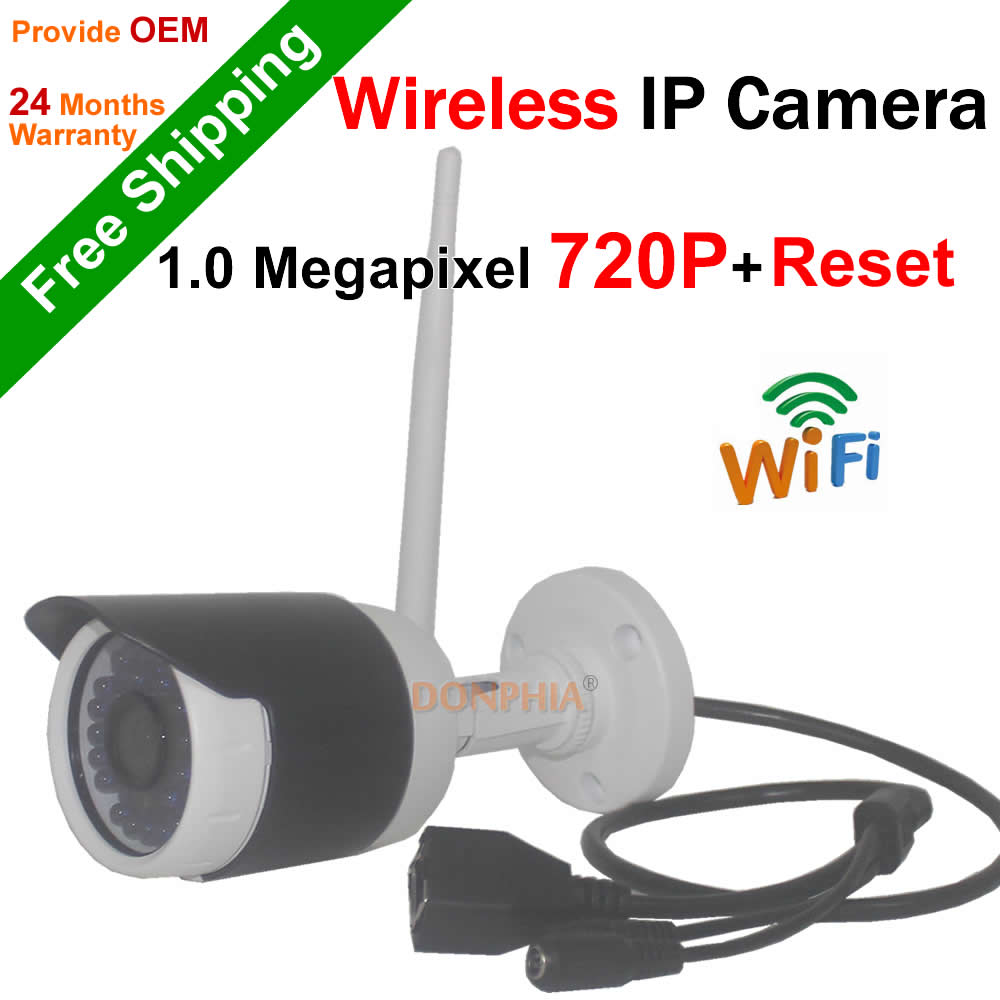 Security Camera 720P wireless IP Camera Onvif remote view IR Night vision Wifi camera PC IOS Android P2P network CCTV Camera<br><br>Aliexpress