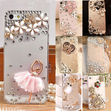 Fashion&Unique 3D Handmade Cover Diamond Bling TPU+PC Acrylic mobile phone Protective shell Case For Samsung J7 2017(EU Version)(China)