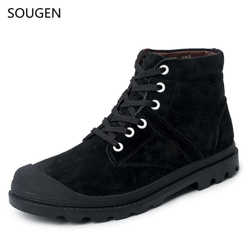 2017 Men Boots 2016 Winter Shoes Black Genuine Military Man Big Size Cow Leathers Timber Vintage Chelsea Leather Motorcycle<br><br>Aliexpress