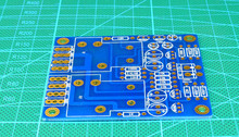 Free Shipping 2pcs/lot Double track power amplifier loudspeaker guard PCB wide voltage/current ENIG 1OZ Circuit board