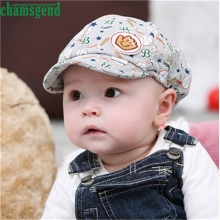 CHAMSGEND drop shipping kenka Summer Style Cute Kid Baby Boy Girl Toddler Infant Hat Peaked Baseball Cap moshino Feb7 S45