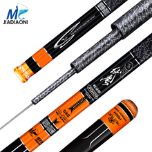 JIADIAONI 2017 Carbon Taiwan Fly Fishing Rod 3.6m 4.5m 5.4m 6.3m Telescopic Taiwan Fishing Rod Professional Pole Fashing Tackle(China)