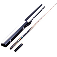 New Hand-made 3/4 Snooker Cues Stick Billiard 9.7mm Tip With Billiards Cue Case Set 2 Options China 2016(China)