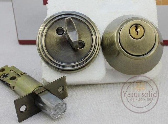 Stainless Steel Tubular Lever Door Locks / DeadBolt Lock<br>