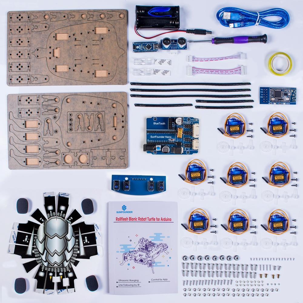 APP Control Toy Robotics Kits (5)