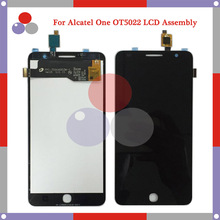 For Alcatel One Touch Pop Star 3G OT5022 5022X 5022D LCD Screen Display + Touch Screen Digitizer Assembly Free Shipping