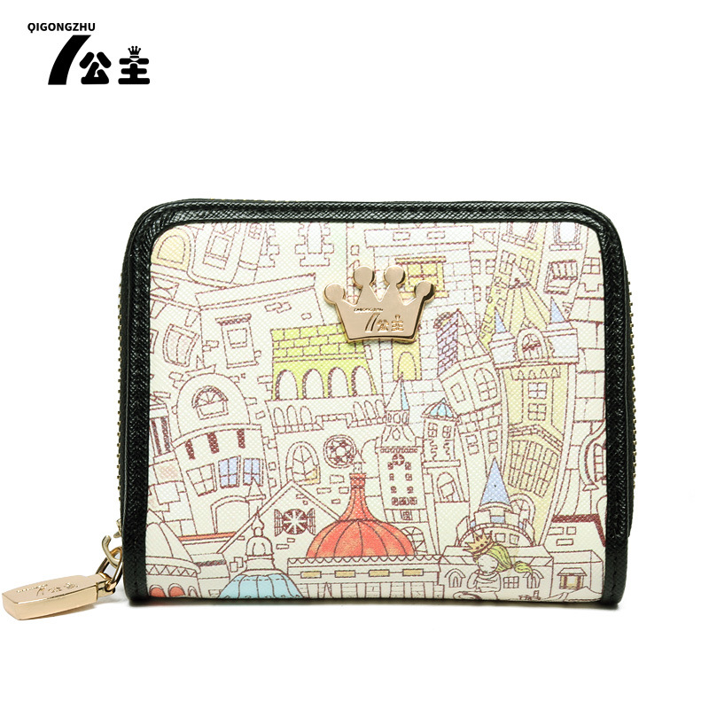 2017 top Purse wallet female famous brand card holders cellphone pocket gifts for women money bag clutch<br><br>Aliexpress