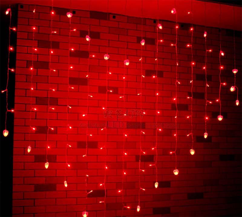 REd string light