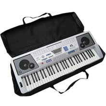 61 Key Black Piano Keyboard Case Bag Electronic Music Carry Oxford Cloth Tote Music Keyboard Bag