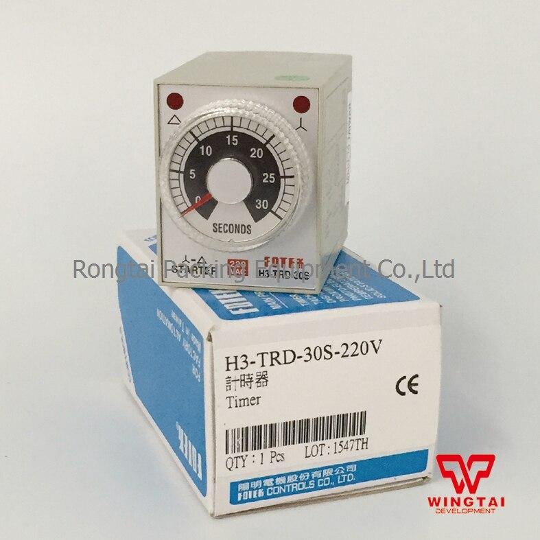 Original Taiwan Fotek H3-TRD-30S STAR-DELTA TIMER Fotek Timer <br>