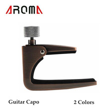 Aroma AC-11 Guitar Capo Zinc Alloy for Acoustic Electric Guitars Unique Color High Quality Guitar Parts and Accessories