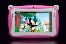 5pcs 4.3 inch Children Kids MP4 player Educational Mini Tablet PC android Dual Core wifi Capacitive Screen cute gifts for baby
