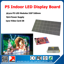 1 Square Meter 18pcs LED Module P5 SMD Indoor LED Display Screen Full Color LED Display Sign Board DIY LED Display Kits