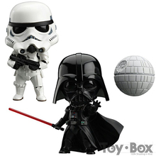 Nendoroid Star Wars The Force Awakens Stormtrooper Darth Vader 501# 502# 10cm Cartoon Toy PVC Figure Model Gift