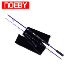 2017 NOEBY 1.83m 2Section M Fishing Rod PE3-6 8+1 Guide Vara Carbono Para Fish Pole Canna Da Pesca Spinning Rod Stand Peche(China)