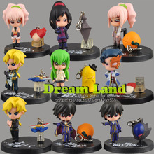 Lot!! Code Geass Lelouch of the Rebellion  Anime Figure 9pcs Set  New play set toys model