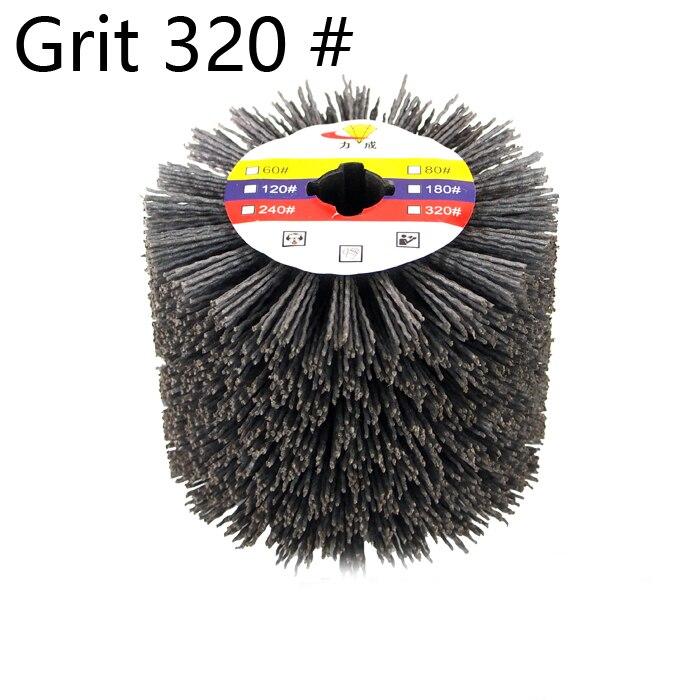 DuPont  wire drawing wheel brush drum burnishing polishing  wheel 120*100*19.5mm<br><br>Aliexpress