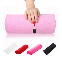 Soft 5 Colors Nail Tools Washable Manicure Pillow Hand Rests Cushion Holder Nail Pillow Armrest For Manicure Accessories Tool