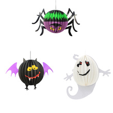 Halloween Spider Lantern Witch Bar Horror Ghost Pendant Ghost Ghost Ornaments Props Decoration Halloween Supplies(China)