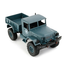 Blue Remote Control Toy Climbing Car 1/16 RC Truck 2.4G RC Crawler Off Road Auto Toys for Children Gift(China)