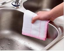 Drop Shipping Kitchen Towel Dish Towel 5-Layer Cotton Gauze Fabric Toalha Easy Clean Easy Dry Home Furniture Cleaning Towels