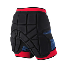 Adult Men Women Protective Hip Butt Pad Padded Shorts Ski Skate Snowboard Activity Shorts Size S M L(China)