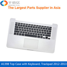 Original  New  A1398 Top Case  US Layout keyboard with trackpad for Macbook Pro Retina 15'  2012-2013