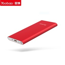 Buy Yoobao 10000mAh Power Bank USB 2.1A Charger Portable Ultra thin Type-C Powerbank External Battery Faster Charge Iphone for $19.99 in AliExpress store