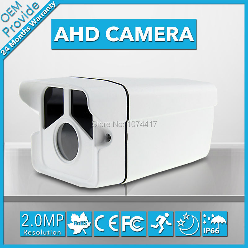 AHD2200PB 2.0MP  Waterproof Bullet AHD Camera 1080P Security Camera  1080P Lens IR Cut Security System<br>