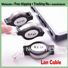 50pcs Retractable Ethernet cable 1.5M RETRACTABLE CAT5 NETWORK ETHERNET LAN Stretch CABLE RJ45(China)