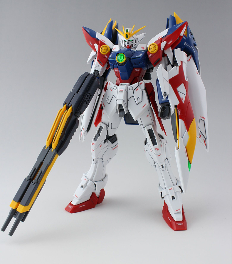 Anime Daban MG 1/100 Wing Gundam Zero EW Action Figure Endless Waltz XXXG-00W0 Puzzle assembled model 18cm Robot kids Puzzle toy<br>