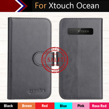 Hot!! In Stock Xtouch Ocean Case 6 Colors Ultra-thin Dedicated Leather Exclusive For Xtouch Ocean Phone Cover+Tracking(China)