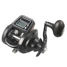 Lurekiller Ecooda OFB1500 dual power digital display Best Selling 6+1BB Electronic Counting Reel Baitcasting Reel 5.1:1Gea(China)