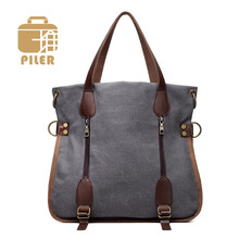 2017 New Designer Canvas Tote Bag Daily Use Women Tote Bags Casual Handbags for Ladies Multi Colors Female Shoulder Handbag