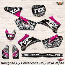 WR YZ YZF 125 250 400 450  Team Graphics Backgrounds Decals Stickers HC Motor cross Motorcycle Dirt Bike MX Racing Parts