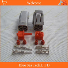Sample,2 sets 2Pin 2.2mm car connector,car fog lamp plug,Car engine waterproof Electrical connector for VW,Audi,Toyota etc.