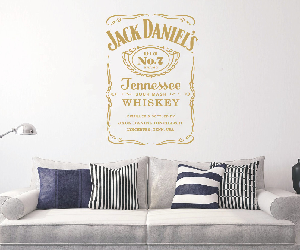 HTB19D9ze8yWBuNkSmFPq6xguVXa3 - YOYOYU Wall Decals Jack Daniels JD Wall Art Sticker