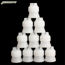 Perfect 10pcs Small Size Coupler Adaptor Cake Flower Pastry Decoration Tool Icing Piping Nozzle Bag Hot