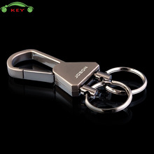 Men Key Chain Car Styling Keychain for Business Gift Auto Key Rings for Chevrolet Jeep BMW Mini Cooper Dacia Honda MG Key Holder(China)
